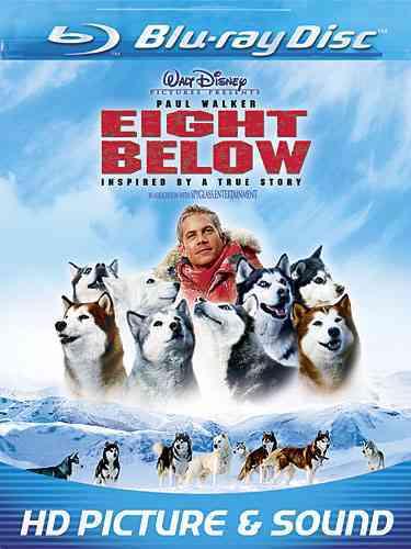 EIGHT BELOW BY WALKER,PAUL (Blu-Ray)
